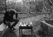 Schackspelaren. På Tyckebo. 1972.