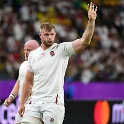 George KRUIS of England during the Rugby World Cup 2019 Quarter Final match between England and Australia on October 19, 2019 in Oita, Japan. (Photo by Dave Winter/Icon Sport) - George KRUIS - Oita Stadium - Oita (Japon)