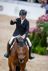 BENGTSSON Rolf-Göran (SWE), Oak Grove's Carlyle <br /> Göteborg - Gothenburg Horse Show 2019 <br /> Gothenburg Trophy presented by VOLVO - Stechen<br /> Int. jumping competition with jump-off (1.55 m)<br /> Longines FEI Jumping World Cup™ Final and FEI Dressage World Cup™ Final<br /> 06. April 2019<br /> © www.sportfotos-lafrentz.de/Stefan Lafrentz