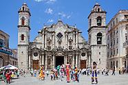 Vieja Churches, Havana, Cuba.