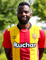 Djiman Koukou during photoshooting of RC Lens for new season 2017/2018 on October 5, 2017 in Lens, France<br /> Photo by RC Lens / Icon Sport