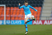 Manchester City Women midfielder Caroline Weir (19) during the FA Women's Super League match between Tottenham Hotspur Women and Manchester City Women at the Hive, Barnet, United Kingdom on 5 January 2020.