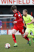 Crawley Town Striker Liam McAlinden (11) during the Sky Bet League 2 match between Crawley Town and Hartlepool United at the Checkatrade.com Stadium, Crawley, England on 19 March 2016. Photo by Andy Walter.