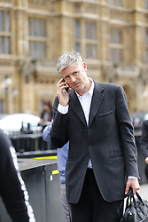 © Licensed to London News Pictures. 14/09/2015. London, UK. Zac Goldsmith arriving at House of Parliament on Monday, September 14, 2015. Photo credit: Tolga Akmen/LNP
