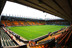 General view of Carrow Road Stadum before the match - Mandatory by-line: Jack Phillips/JMP - 07/05/2016 - FOOTBALL - Carrow Road - Norwich, England - Norwich City v Manchester United - Barclays Premier League