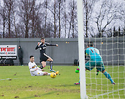 Dundee&rsquo;s Rory Loy fires in a shot - Dumbarton v Dundee, William Hill Scottish Cup fifth round at The Cheaper Insurance Direct Stadium <br /> <br />  - &copy; David Young - www.davidyoungphoto.co.uk - email: davidyoungphoto@gmail.com