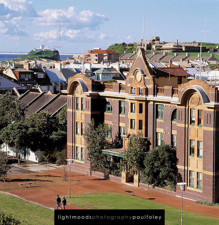 Historic East End of Newcastle, Australia,