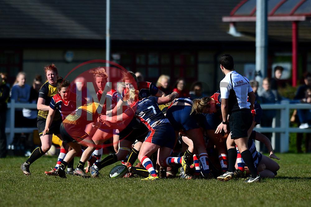 Bristol Ladies in action against Wasps Ladies - Mandatory by-line: Dougie Allward/JMP - 26/03/2017 - RUGBY - Cleve RFC - Bristol, England - Bristol Ladies v Wasps Ladies - RFU Women's Premiership