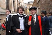 Professor at Cambridge University Graduation Day 2007.