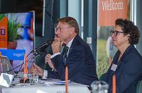 UTRECHT -  Aftredend president Willem Zelsmann,   Algemene Ledenvergadering van de Nederlandse Golf Federatie NGF.   COPYRIGHT KOEN SUYK
