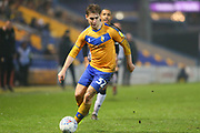 Mansfield Town forward Danny Rose (32) during the EFL Sky Bet League 2 match between Mansfield Town and Port Vale at the One Call Stadium, Mansfield, England on 26 December 2019.