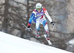 20.01.2011, Tofana, Cortina d Ampezzo, ITA, FIS World Cup Ski Alpin, Lady, Cortina, Abfahrt 2. Training, im Bild Denise Feierabend (SUI, #53) // Denise Feierabend (SUI) during FIS Ski Worldcup ladies downhill second training at pista Tofana in Cortina d Ampezzo, Italy on 20/1/2011. EXPA Pictures © 2011, PhotoCredit: EXPA/ J. Groder