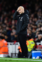 Football - 2019 / 2020 Premier League - Arsenal vs. Brighton & Hove Albion<br /> <br /> Arsenal caretaker manager Freddie Ljungberg frustrated on the touchline, at The Emirates.<br /> <br /> COLORSPORT/ASHLEY WESTERN