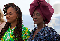 Jury members Ava DuVernay, Khadja Nin at the Jury photo call at the 71st Cannes Film Festival Tuesday 8th May 2018, Cannes, France. Photo credit: Doreen Kennedy