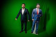 ROTTERDAM - portret van DENK Tunahan Kuzuen Selçuk Öztürk  portret ROBIN UTRECHT