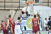DESCRIZIONE : Final Eight Coppa Italia 2015 Desio Quarti di Finale Umana Reyer Venezia - Enel Brindisi<br /> GIOCATORE : Jacob Pullen<br /> CATEGORIA : Tiro Penetrazione Sottomano Controcampo<br /> SQUADRA : Enel Brindisi<br /> EVENTO : Final Eight Coppa Italia 2015 Desio<br /> GARA : Umana Reyer Venezia - Enel Brindisi<br /> DATA : 20/02/2015<br /> SPORT : Pallacanestro <br /> AUTORE : Agenzia Ciamillo-Castoria/L.Canu
