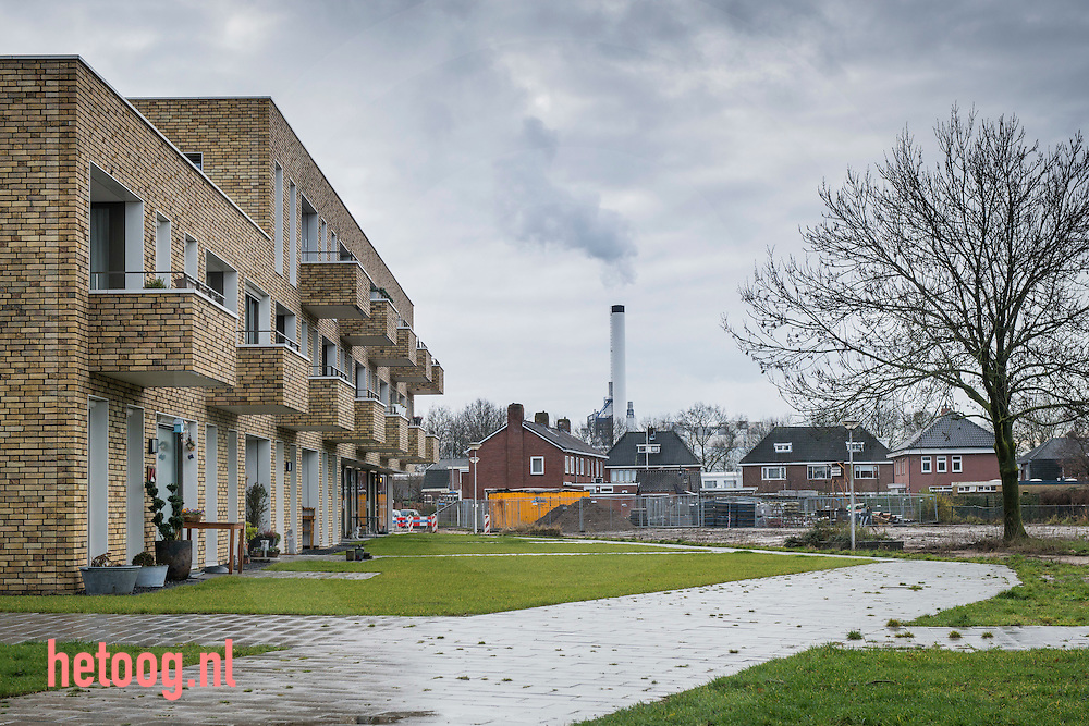 nederland, hengelo, De wijk Berfelo Es in Hengelo (o)