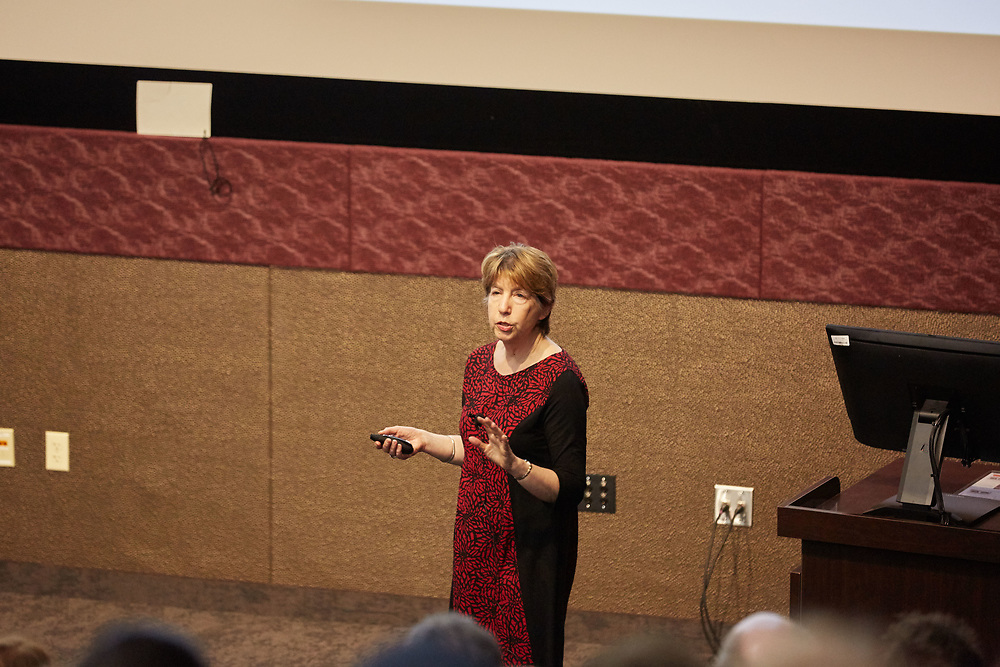 Marlene Zuk, a professor in the Department of Ecology, Evolution and Behavior at the University of Minnesota, is this year's Warner Memorial Lecture speaker at UWL.