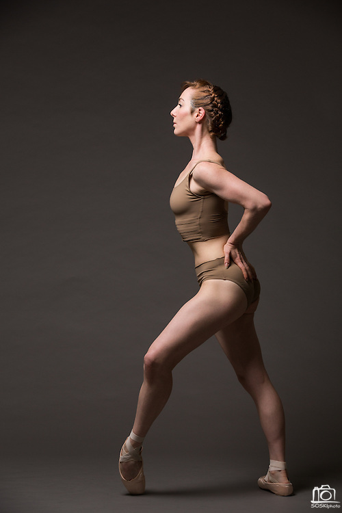 Constanza Murphy poses for a portrait during a photo shoot at Bay Pointe Ballet in South San Francisco, California, on March 11, 2016. (Stan Olszewski/SOSKIphoto)