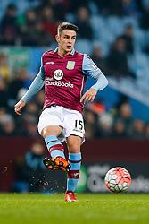Ashley Westwood of Aston Villa in action - Mandatory byline: Rogan Thomson/JMP - 19/01/2016 - FOOTBALL - Villa Park Stadium - Birmingham, England - Aston Villa v Wycombe Wanderers - FA Cup Third Round Replay.