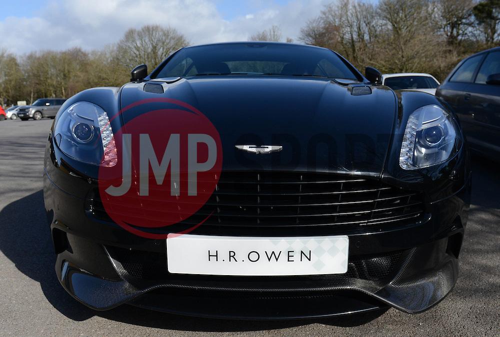 Aston Martin - Photo mandatory by-line: Dougie Allward/JMP - Mobile: 07966 386802 - 01/04/2015 - SPORT - Football - Bristol - Bristol City Training Ground - HR Owen and SAM FM