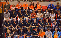 31-05-2015 NED: CEV EK Kwalificatie Nederland - Spanje, Doetinchem<br /> Nederland wint met 3-1 van Spanje en plaatst zich voor het EK in Bulgarije en Italie / WK Ambassadeurs
