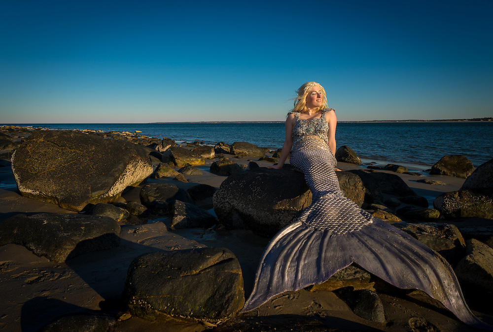 Colby Sawyer student Mermaid Giovanna Roy…