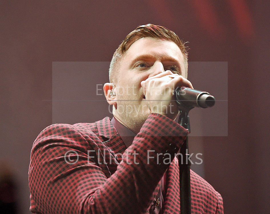 Plan B<br /> aka Ben Drew<br /> performing live at the O2 Arena, Greenwich, London, Great Britain <br /> <br /> 9th February 2013 <br /> <br /> Plan B<br /> <br /> Photograph by Elliott Franks