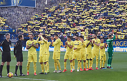 January 20, 2019 - Villarreal, Castellon, Spain - Villarreal players during the La Liga Santander match between Villarreal and Athletic Club de Bilbao at La Ceramica Stadium on Jenuary 20, 2019 in Vila-real, Spain. (Credit Image: © Maria Jose Segovia/NurPhoto via ZUMA Press)
