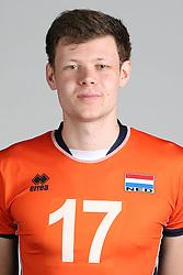 20160516 NED: Selectie Nederlands volleybal team mannen, Arnhem<br />Michael Parkinson