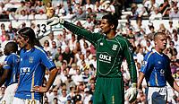 Photo: Steve Bond. <br />Derby County v Portsmouth. Barclays Premiership. 11/08/2007. David James directs