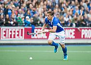 UTRECHT - Bjorn Kellerman (Kampong)  tijdens de 2e finale van de play-offs om de landtitel tussen de heren van Kampong en Amsterdam  (1-2) . Zondag volgt er een derde en beslissende wedstrijd. COPYRIGHT  KOEN SUYK