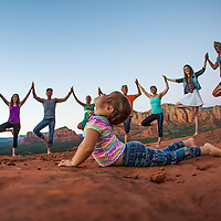 Yoga in Sedona Full Gallery