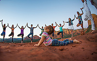 Leah Angelica Litvin at Bell Rock, Sedona