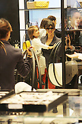 24.APRIL.2013. LONDON<br /> <br /> KOURTNEY KARDASHIAN SON MASON AND MUM KRIS SPEND THE DAY SHOPPING AROUND LONDON AT SELFRIDGES, HAMLEYS TOY STORE AND BROWNS.<br /> <br /> BYLINE: EDBIMAGEARCHIVE.CO.UK<br /> <br /> *THIS IMAGE IS STRICTLY FOR UK NEWSPAPERS AND MAGAZINES ONLY*<br /> *FOR WORLD WIDE SALES AND WEB USE PLEASE CONTACT EDBIMAGEARCHIVE - 0208 954 5968*