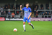 Hartlepool United midfielder Lewis Hawkins (18) in action during the EFL Sky Bet League 2 match between Barnet and Hartlepool United at Underhill Stadium, London, England on 29 October 2016. Photo by Jon Bromley.