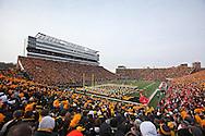 November 20 2010: Kinnick Stadium before the start of the NCAA football game between the Ohio State Buckeyes and the Iowa Hawkeyes at Kinnick Stadium in Iowa City, Iowa on Saturday November 20, 2010. Ohio State defeated Iowa 20-17.