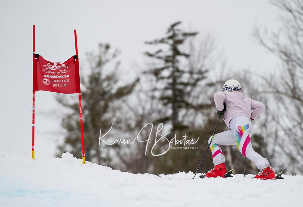 Piche Invitational GS girls U14 2nd run.    ©2019 Karen Bobotas Photographer