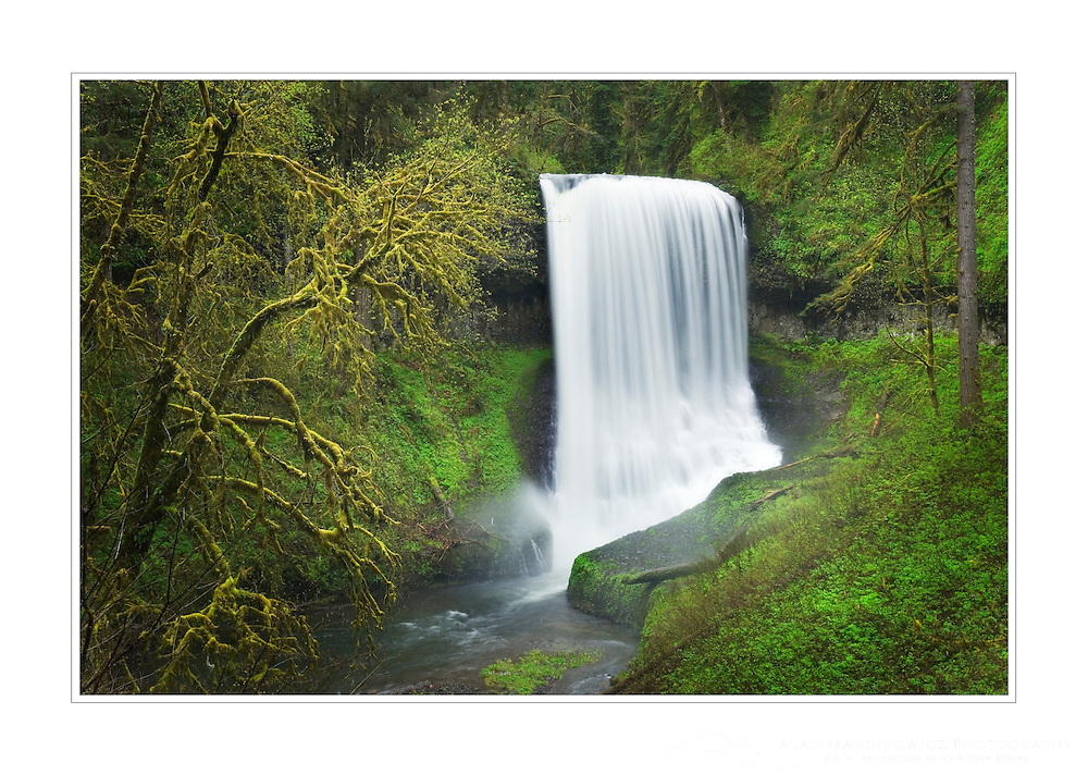Middle North Falls, Silver Falls State Park, Oregon