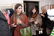 LILY PEBBLES; ZOE HELLEWELL, Juicy Couture and Fifi Lapin - masquerade Ball<br /> Juicy Couture, 27 Bruton Street, London,  7 March 2012