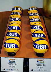 02-07-2011 VOLLEYBAL: DRAW EUROPEAN SITTING VOLLEYBALL: ROTTERDAM<br /> In Novotel Rotterdam was the draw for the European sitting volleyball held in October in Rotterdam Topsportcentrum - SLO Slovenia<br /> ©2011-www.fotohoogendoorn.nl