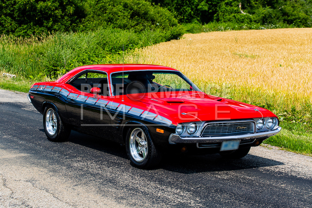 1974 Dodge Challenger on pavement
