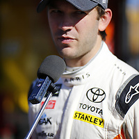 March 09, 2018 - Avondale, Arizona, USA: Daniel Suarez (19) gets ready to take to the track for the first practice of the Ticket Guardian 500(k) at ISM Raceway in Avondale, Arizona.