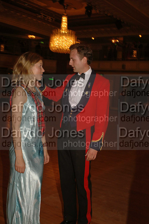 VICTORIA FORMAN HARDY AND CAPT. THE VISCOUNT MARSHAM, The Royal Caledonian charity Ball 2006.Grosvenor House. London. 5 May 2006. . ONE TIME USE ONLY - DO NOT ARCHIVE  © Copyright Photograph by Dafydd Jones 66 Stockwell Park Rd. London SW9 0DA Tel 020 7733 0108 www.dafjones.com