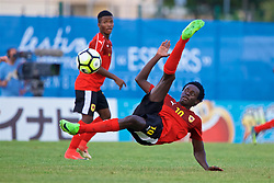 AUBAGNE, FRANCE - Monday, May 29, 2017: Angola's Zinadine Zidane M. Catraio during the Toulon Tournament Group A match between England U18 and Angola U20 at the Stade de Lattre-de-Tassigny. (Pic by David Rawcliffe/Propaganda)
