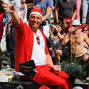 NLD/Amsterdam/20120804 - Canalparade tijdens de Gaypride 2012, BNN boot, Ome Cor