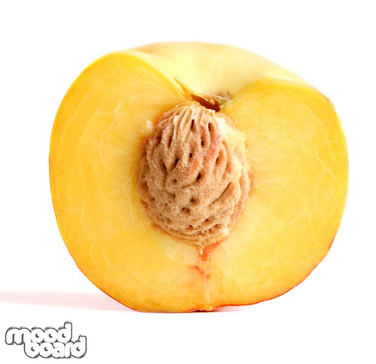 Studio shoof halved peach