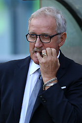 September 23, 2017 - Rome, Italy - Udinese coach Luigi Del Neri during the Italian Serie A football match AS Roma vs Udinese on September 23, 2017 at the Olympic stadium in Rome. (Credit Image: © Matteo Ciambelli/NurPhoto via ZUMA Press)