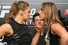 July 30, 2015: UFC 190 Ultimate Media Day