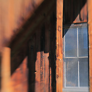 Four Pane Screened Window - Bodie, CA - Lensbaby